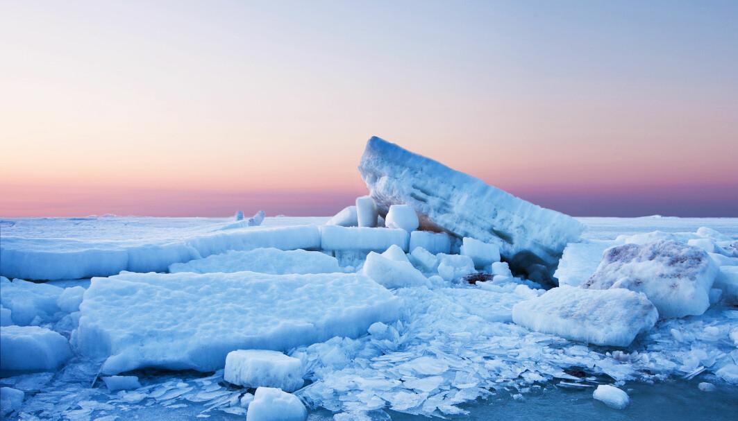 Den årlige issmeltingen har økt de siste 30 årene.
