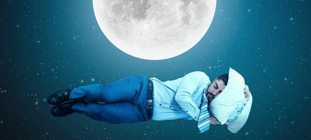 Vi sover kortere når det er fullmåne, ifølge ny studie