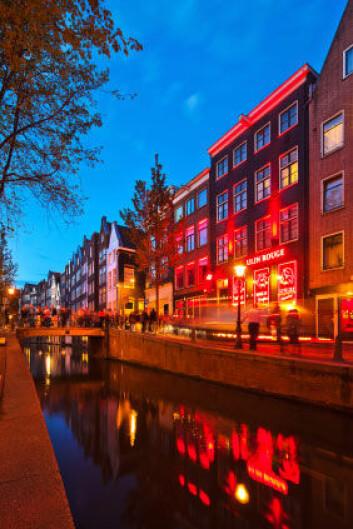 Red Light District i Amsterdam er et av verdens mest kjente prostitusjonsstrøk. (Foto: iStockphoto)