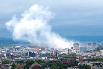"""Oslo en halv time etter at bomben sprengte i regjeringskvartalet 22. juli 2011. (Foto: <a href=""""http://en.wikipedia.org/wiki/File:Oslo_view_of_city.jpg"""">Wikimedia Commons</a>)"""