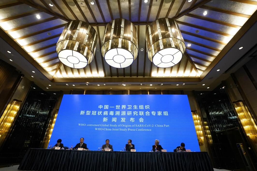 Tirsdag ble de foreløpige resultatene fra WHOs fire uker lange opphold i Kina presentert på en pressekonferanse i Wuhan.