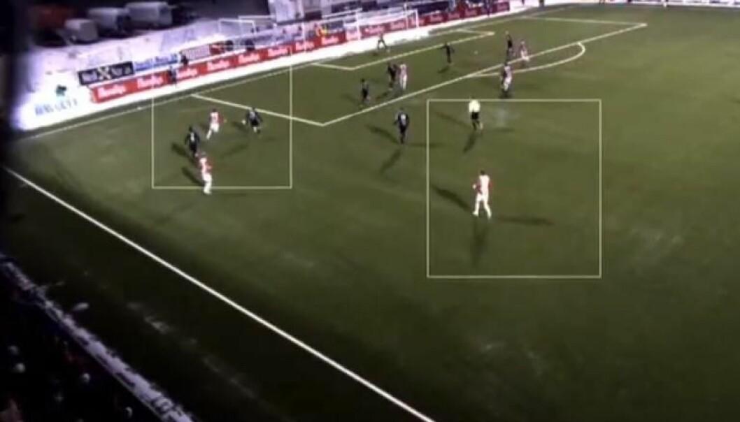 Analyserer fotballkampen automatisk