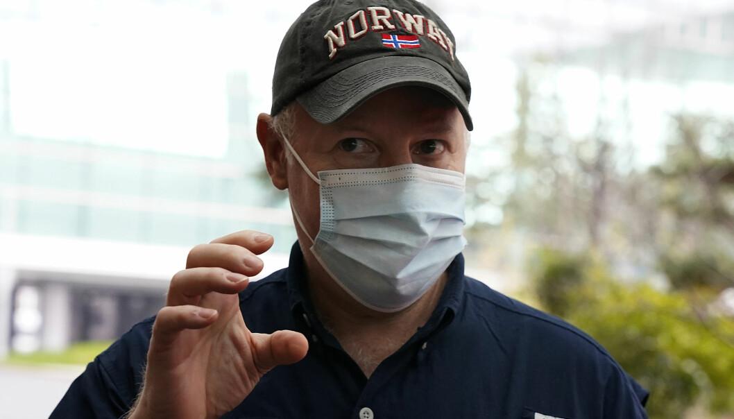 Den britiske zoologen Peter Daszak forlot onsdag Wuhan etter at Verdens helseorganisasjon avsluttet sin gransking av opphavet til koronaviruset i byen.