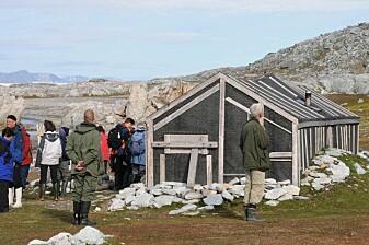 Claus Andersen-hytta i Hyttevika ble oppført i 1907 som den første norske fangststasjonen i Hornsund-området.