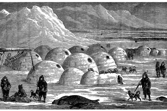 I 1721 var de norrøne bosetningene på Grønland forsvunnet. Det var bare de lokale inuittene igjen. (Foto: (Illustrasjon: Erica Guilane-Nachez, Microstock))