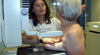 Oslo-kvinner møter sjeldnere opp til mammografiscreening