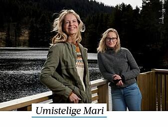 Kreftforeningen har rost Mari By Rise og Lajla Ellingsen for sin åpenhet om kreftdiagnosen. Faksimile fra Adresseavisen.