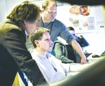 Professor Bertil Tungodden, radiograf Roger Barndon og professor Alexander W. Cappelen.