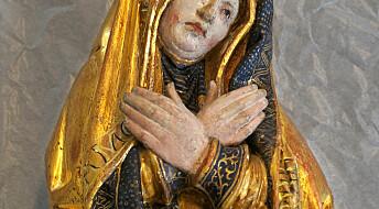 Maria ut av skapet