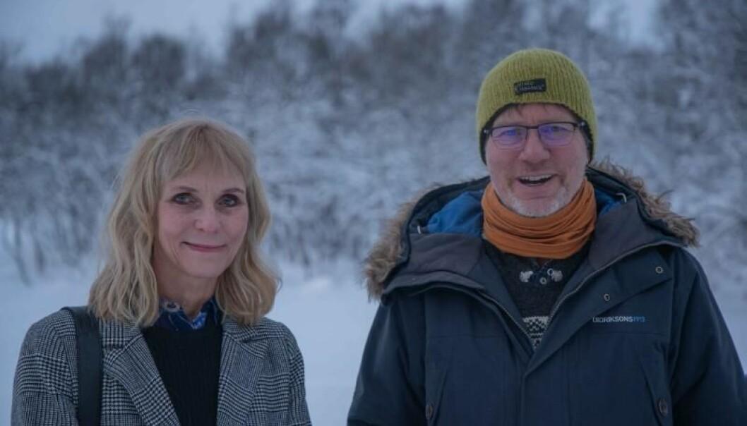 Svarer på spørsmål om partnervalg: Catharina E. A. Wang og Jørgen Sundby er henholdsvis professor i psykologi og psykologspesialist ved UiT Norges arktiske universitet.