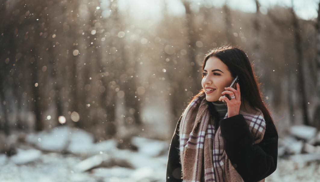 Når kuldesensorene i huden din merker at det er kaldt, sender de beskjed til hjernen om å sette i gang tiltak.