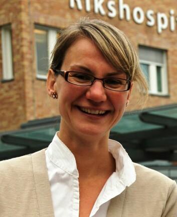 Hanne Cathrine Lie (Foto: Barnekreftforeningens blogg)