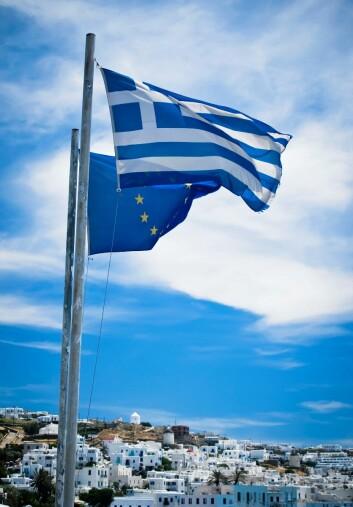 EU og Det internasjonale pengefondet krever at Hellas må gjennomføre store reformer for å få nye lån. (Foto: Colourbox)