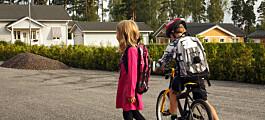 Elevene ble mindre fysisk aktive da skolene ble digitale