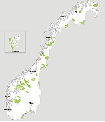 Natur har en viktig plass i den norske folkesjelen. Norge har i dag 47 nasjonalparker.