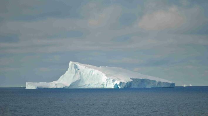 Endelig, isfjell!