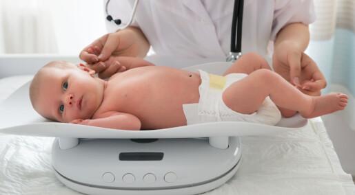 Prøverørsbarn veier mindre når de blir født, men så tar de igjen forspranget