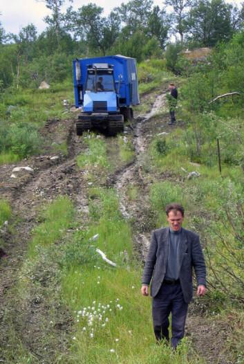 Vasily Litvinenko var sjefkoordinator for boreprosjektet i Russland. (Foto: FAR DEEP/ICDP)