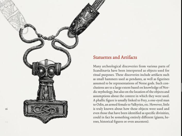 Side fra appen Dreams of Valhalla, lagd av forskere fra Université de Strasbourg. (Foto: (Rettigheter: Thomas Mohnike))