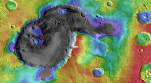 Supervulkaner kan ha herjet på Mars