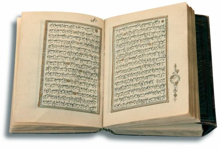 Koranen og Sunna (Muhammeds liv og ytringer) tillater at et sekulært prinsipp legges til grunn for statsstyret. At staten styres av islam, betyr altså ikke at staten styres av hellige lover. Foto: Colourbox