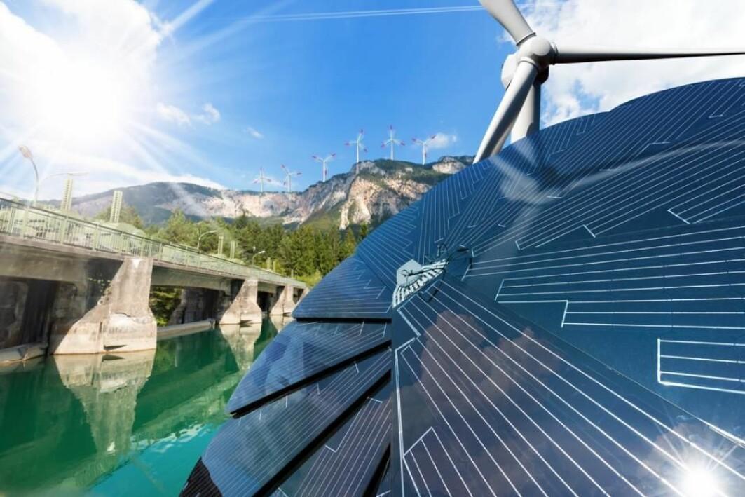 Hvis man skal ha klimanøytral strøm i Europa, må vi produsere mer enn 100 gigawatt sol- og vindenergi, viser en studie i Nature Communications.