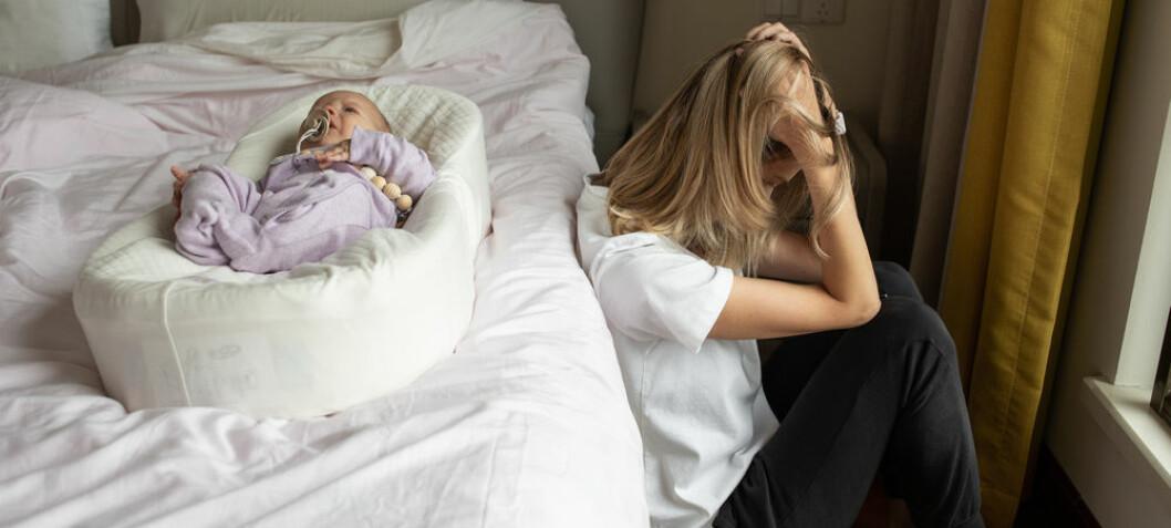 Slik kan fødselsdepresjon forhindres