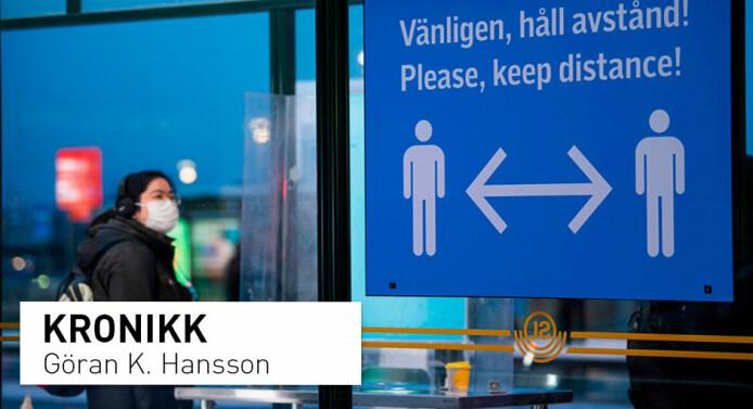 Debatten om koronapandemien i Sverige truer forskningens frihet