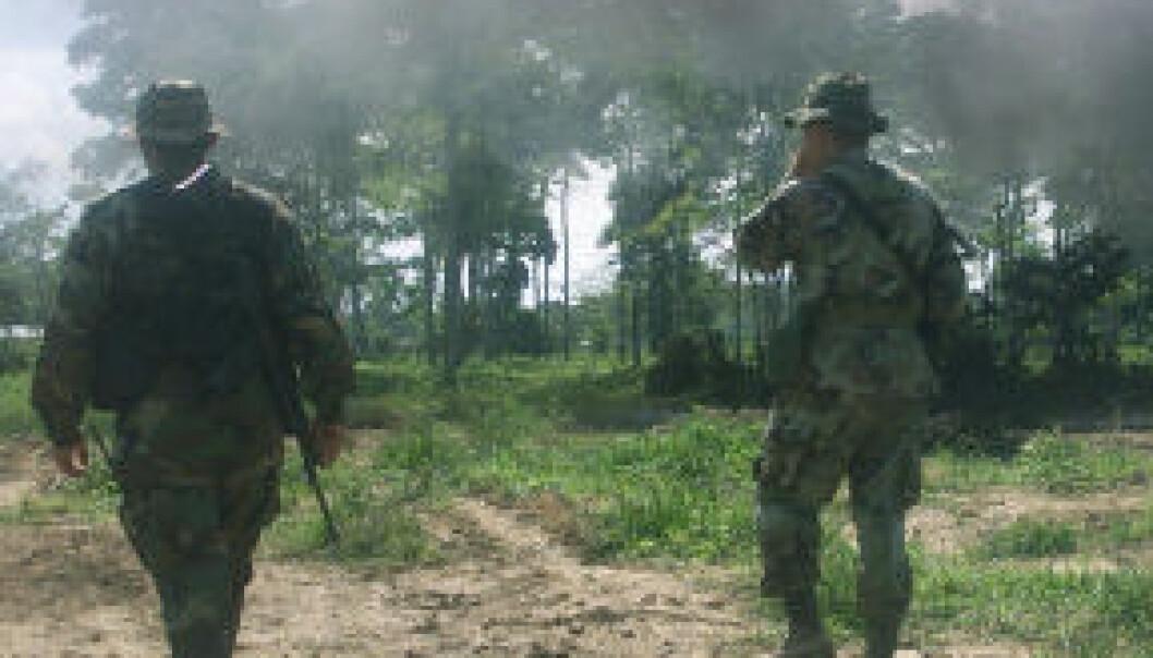 – FARC forvitrer innenfra