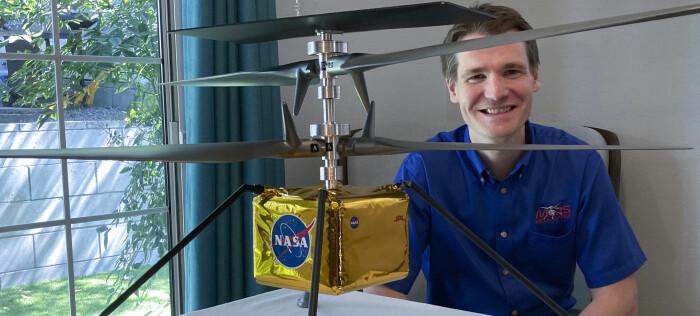 Skal fly helikopter på Mars: – Vanskelig å si om dette er livsverket mitt