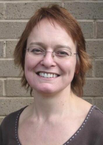 """""""Claire Pickerden er ansvarlig for kontakten med samarbeidspartnere ved UKRC. (Foto: Marte E. Ryste)"""""""