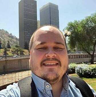 Carl Henrik Knutsen er professor i statsvitenskap ved Universitetet i Oslo. Her deltar han på en konferanse om demokrati i Chile.
