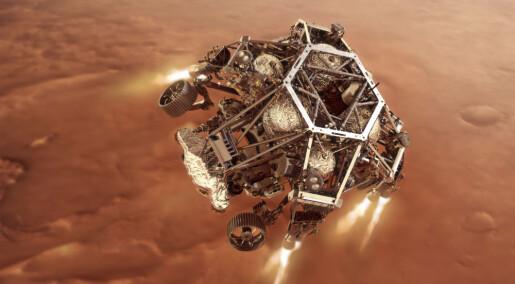 Perseverance har landet på Mars