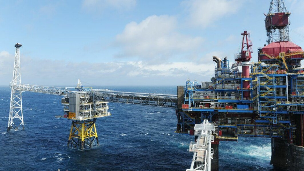 The Sleipner field, where Equinor has been injecting CO2 into a subsea formation for more than 20 years.