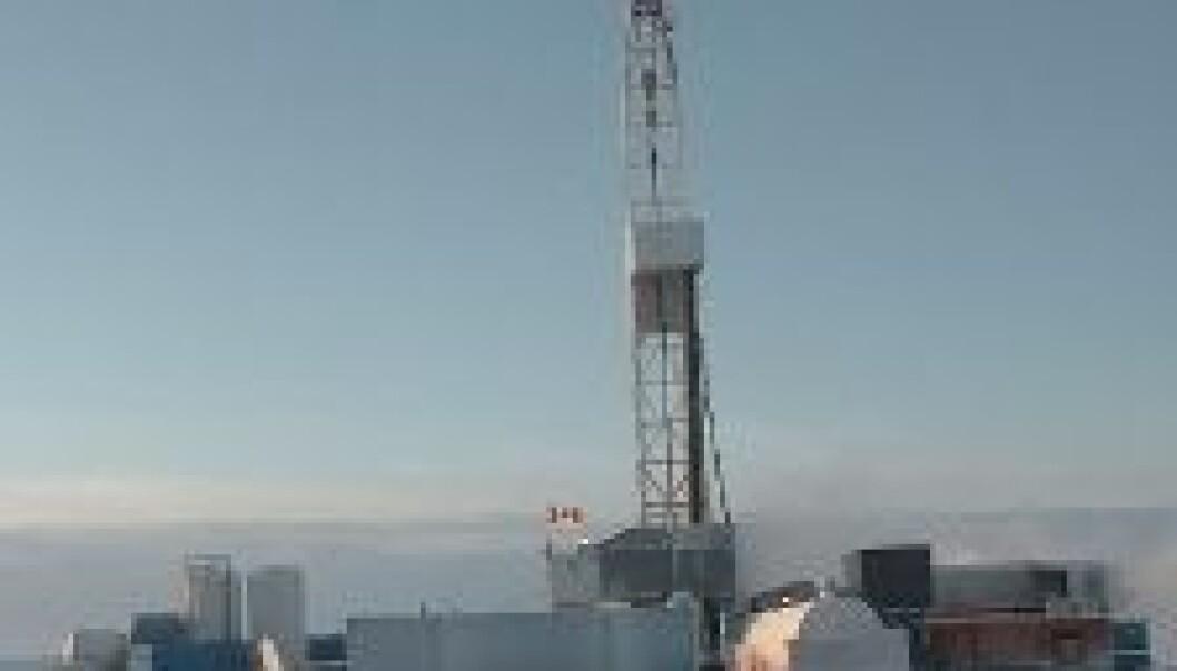 Oljeboring i Arktis. (Foto: iStockphoto)