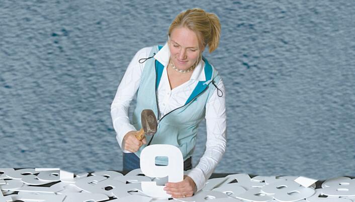 Ellen Mosleth har sett på tall fra analyser av ryggmargsvæskeprøver.