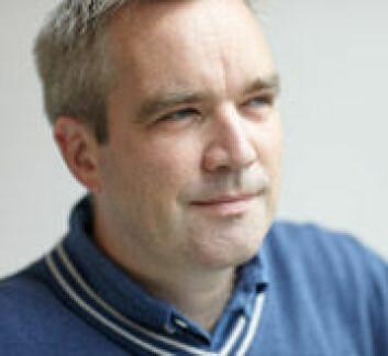 Musikkviter Håvard Enge forsvarte den 8. september sin avhandling Music Reading Poetry – Hans Zender's Musical Reception of Hölderlin. (Foto: Annica Thomsson)