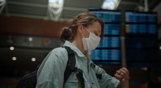 Pandemien gjør tiden vag og uhåndterlig