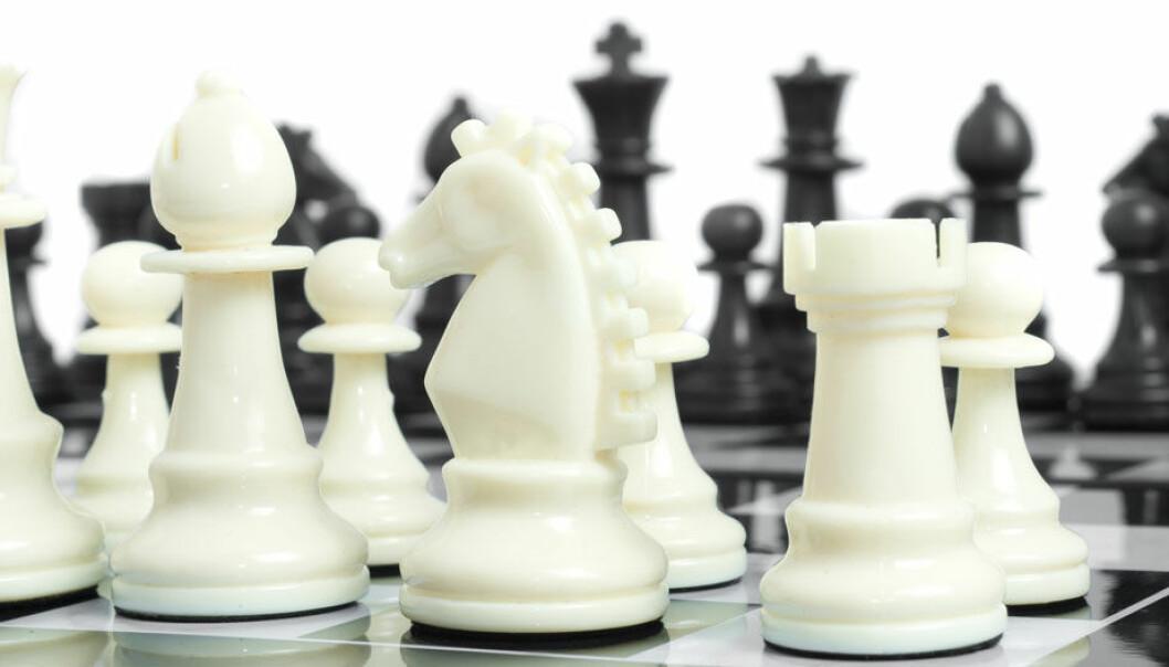 I teorien er sjakk bare en forvokst versjon av bondesjakk, bare med utrolig mange flere mulige trekk. Colourbox.com