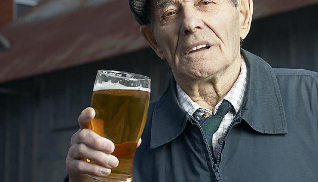 """""""Svært moderat drikking kan du leve lenge med."""""""