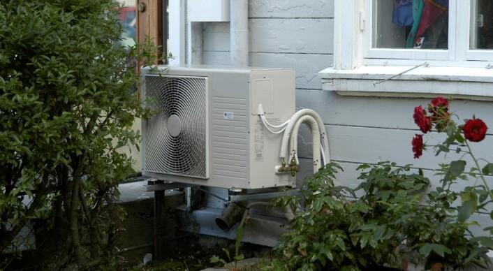 Varmepumpen gir tre til fire ganger mer varme, ved samme energiforbruk, som tradisjonelle ovner (leverer tre til fire kWh varme for hver kWh elektrisitet). (Foto: Scanstockphoto)