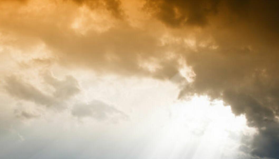 Himmel og hav. iStockphoto