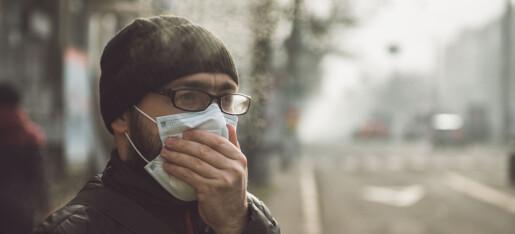 Hvert fjerde tilfelle av hjerteinfarkt og hjertekrampe skyldes luftforurensning