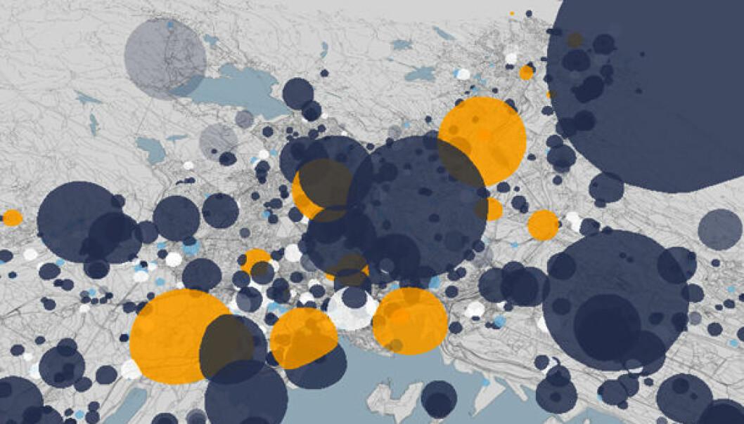 Planimator, skjermdump fra webapp fra bengler.no. (Bilde: www.bengler.no)