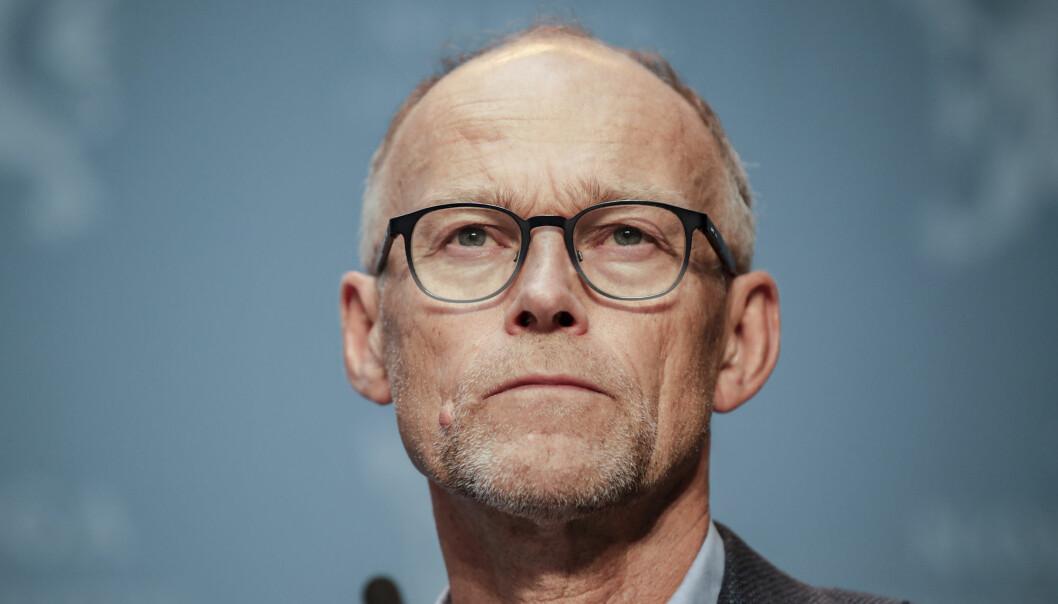 Svenske medier har omtalt ham som «Norges Tegnell». Frode Forland er glad han ikke fikk denne rollen.