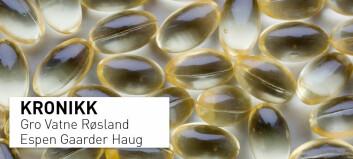 En regnefeil ligger til grunn for anbefalte vitamin D-doser