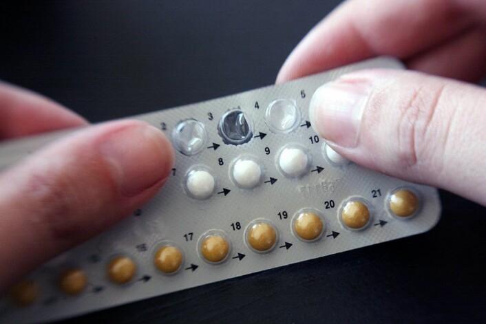 """""""P-piller gir kontroll over fruktbarheten, men kan de lage krøll i minner?"""" (Foto: Colourbox)"""