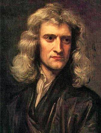 Isaac Newton er en av tidens største vitenskapsmenn.