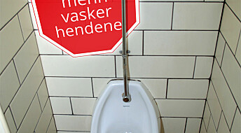 Trenger ekstra påminnelse om håndvask