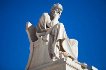 En ny terapimetode for å behandle rusproblemer er inspirert av filosofen Sokrates. (Foto: Photos.com)